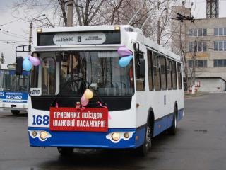 В Артемовске пока не могут запустить восьмой маршрут троллейбуса: нет денег