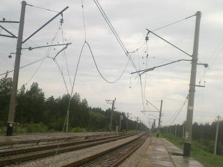 Артемовцам на заметку: из-за подрывов путей поезда идут вне графика