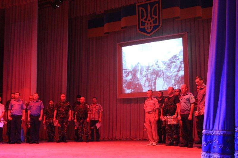 В Артемовске отметили День независимости с награждениями. 1408725218_img_6389