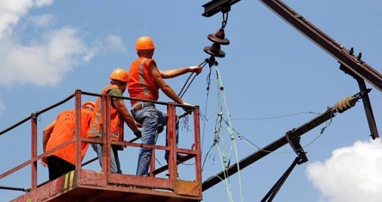 Идут работы по восстановлению железной дороги Артемовск-Никитовка