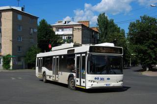 Артемовск купит еще 4 низкопольных троллейбуса для нового маршрута №8